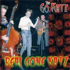 GO-KATZ Real Gone Katz CD - Old School 1980s British Psychobilly - NEW Raucous