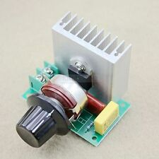 3800W / 0-220V Spannungsregler Dimmer Speed Temperatur Volt Regler Regulator