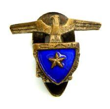 Distintivo C.A.I. Club Alpino Italiano (F.M. Lorioli Fratelli Milano)