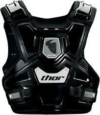 THOR YOUTH SENTINEL CHEST PROTECTOR BLACK BODY ARMOUR KIDS MOTOCROSS MX BMX BOYS