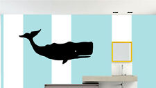 WHALE WALL STICKER DECAL-46 inch Great for walls of your home and as gifts.