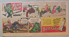 Ben-Gay Ad: Peter Pain: Is Fouled Again!  7.5 x 14 inches
