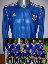 Dominican Republic ADIDAS L/S Shirt Jersey Soccer Adult XL Maglia BNWT World Cup