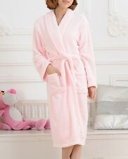 Women Men Winter Cotton blend Bathrobe Night-robe Bath Robe Housecoat Sleepwear
