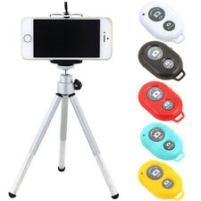 Camera Tripod Stand Holder Bluetooth Shutter Remote for iPhone 5 6 6s plus 5S