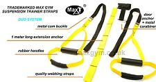 Body Duo Sport suspension TRAINER GYM equipment TRAINING MMA WORKOUT SYSTEM 3.0