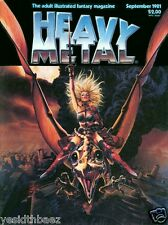 Heavy Metal Magazine Completa (Ingles) Digital Comic (CBR)