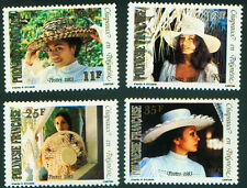French Polynesia   HATS   #379- 382   MNH 1983