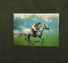 BOOKLET ROLEX DATE JUST ANNO 1998 USA