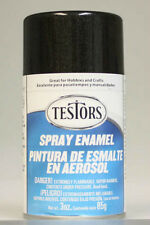 Black Metallic Enamel (3 oz aerosol)   We combine shipping   Testors Number 1254