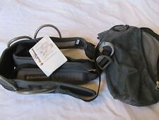 BRAND NEW WITH TAGS BLACK DIAMOND FOCUS GRAY & BLACK HARNESS SIZE XS