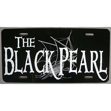 Pirates of the Caribbean Jack Sparrow Black Pearl Car Tag License Plate