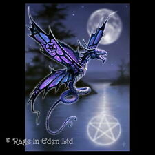 **DRAGONFLY** Anne Stokes Gothic Dragon Fantasy Art Blank Greeting Card (AN01)