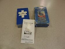 Enochian Tarot 1st. 1989 Deck Cards Divination Pagan Used ~ Free Ship