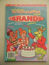 Activity Book Spanish / La Libreta De Diversiones Original Grande, Agua