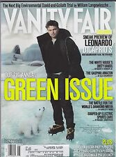 MAY 2007 VANITY FAIR magazine (no label ) - GREEN ISSUE - DICAPRIO