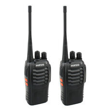 Lot 2 Baofeng BF-888S 400-470MHz 5W Handheld Two-way Ham Radio + Earphone