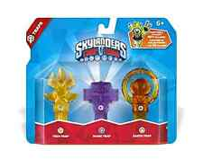 Skylanders Trap Team Game Triple Pack Tech Magic Earth Lot 3 Figures Figure Fun