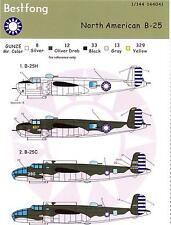 Bestfong Decals 1/144 NORTH AMERICAN B-25 MITCHELL Chinese Air Force