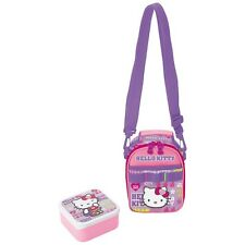 Sanrio Hello Kitty Lunch Bag and Container Box School : Girly Sports Kitty