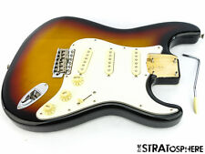 Fender Vintage 62 RI Stratocaster Strat LOADED BODY Sunburst Guitar Parts