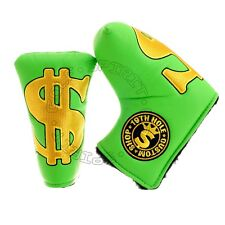 Golf Blade Putter Head cover for Nike Bettinardi Odyssey Cleveland, Cash is King