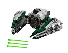 New LEGO Yoda's Jedi Starfighter only. 75168 No Minifigs Or Box