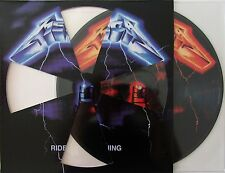 METALLICA VINYL LP - RIDE THE LIGHTNING - PICTURE DISC