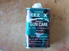 Eezox Synthetic Gun Oil Lube,Rust Inhbitor,Solvent All In One Care 4 oz. Can