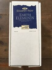 Stampin' Up! Earth Elements Set of 9 Boxed Ink Pads Stampin' Pads Retired