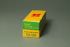 Kodak Tri-X 120 format film, expired 3/1982, deep frozen since purchase