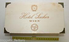 Authentique boite en bois vide Hotel Sacher Wien ( 007 )