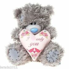 "TATTY TEDDY 8"" I LOVE ONLY YOU CUTE PLUSH BEAR VALENTINE CUDDLY TOY ME TO YOU"