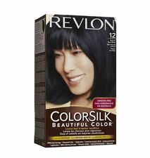 Revlon ColorSilk Beautiful Color, 12 Natural Blue Black