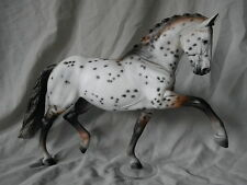 Breyer Horse Statue OOAK CM/Custom Totilas Warmblood Mulberry Appaloosa