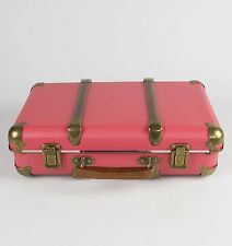 Sass and Belle Pink Retro Storage Case Suitcase