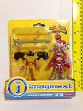 GOLDAR & LORD ZEDD IMAGINEXT MIGHTY MORPHIN POWER RANGERS FISHER PRICE PLAYSKOOL