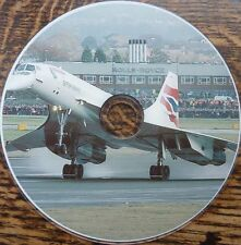 Vintage Anglo French Concorde images photos postcards France aeroplane 700+ CD