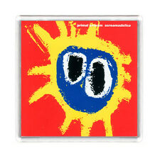 PRIMAL SCREAM SCREAMADELICA 1991 LP COVER FRIDGE MAGNET IMAN NEVERA