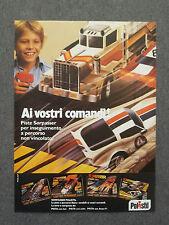 G260-Advertising Pubblicità - 1982 - POLISTIL PISTE SORPASSER