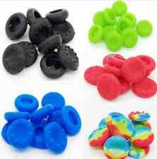 Black Xbox 10X Silicone Analog Controller Thumb Stick Grip Cap Cover For PS3/4 C