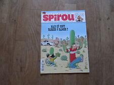 JOURNAL BD  SPIROU 3674 + supplement abonne papertoy parker et badger