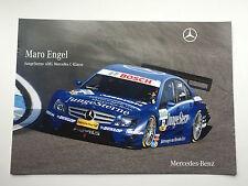 Maro Engel Unsigned AMG-Mercedes Poster DTM.