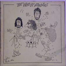 THE WHO 'THE WHO BY NUMBERS' DUTCH IMPORT LP
