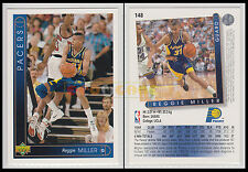 NBA UPPER DECK 1993/94 - Reggie Miller # 148 - Pacers - Ita/Eng - MINT