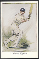 Sports Postcard - Cricket - Maurice Leyland, Yorkshire & England  A8038