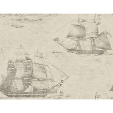York Wallcoverings GX8170 Passport Ghost Ships Wallpaper