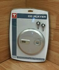Trutech (T100-CD) Personal Portable CD Player With Earbuds **NEW** (057 04 0800)