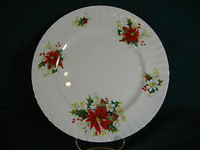 Royal Albert Poinsettia Christmas Pattern Dinner Plate(s)