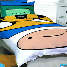 Adventure Time Big Finn & Jake - Single/US Twin Bed Quilt Doona Duvet Cover Set
